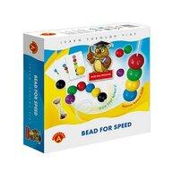 Alexander Games - Joc educativ margele jumbo de insirat Bead for Speed,