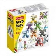 Quercetti - Joc educativ pentru copii Acrobats, 4070 Omuleti acrobati, 16 piese multicolore
