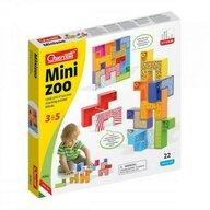 Quercetti - Joc educativ pentru copii Mini Zoo, 9 piese multicolore