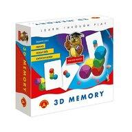 Alexander Games - Joc educativ perceptie spatiala 3D Memory,