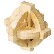 Fridolin - Joc logic din lemn de bambus Disc dublu