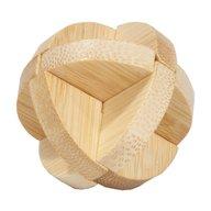 Fridolin - Joc logic IQ din lemn bambus in cutie metalica-3