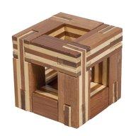 Fridolin - Joc logic IQ din lemn bambus Magic frame