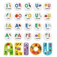 Headu - Puzzle educativ Sa invatam vocalele Puzzle Copii, piese 20