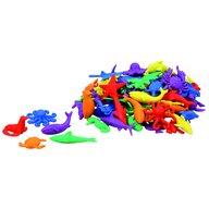 Commotion - Set figurine Animale marine Pentru sortare, 84 piese