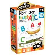 Headu - Joc tactil Montessori Abc