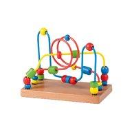 Joueco - Jucarie din lemn Labirint cu margele