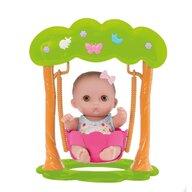 Jucarie bebelus adorabil fetita in leagan