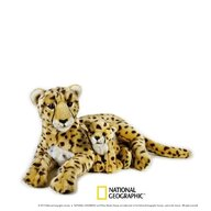 Jucarie de plus, National Geographic Ghepard cu pui 50cm