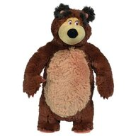 Simba - Jucarie de plus  Masha and the Bear, Bean Bag Bear 40 cm