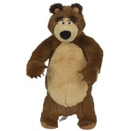 Simba - Jucarie de plus  Masha and the Bear, Bear in picioare 25 cm