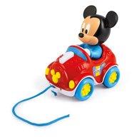 Clementoni - Jucarie de tras Masinuta Mickey