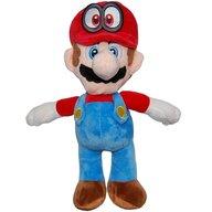 Play by Play - Jucarie din plus Mario 30 cm, Cu sapca Super Mario, Rosu