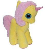 Play by Play - Jucarie din plus My Cute Unicorn 28 cm, Galben