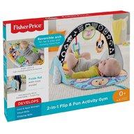 Fisher-Price - Jucarie interactiva - Saltea 2 in 1 pliabila cu activitati