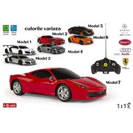 Jucarie masina cu radiocomanda 1:18 4 modele culori variate