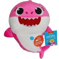 Play by Play - Jucarie din plus interactiva Mummy Shark 25 cm Baby Shark