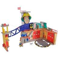 Simba - Jucarie  Statie de pompieri Fireman Sam, Sam Ultimate Firestation XXL cu figurina si accesorii