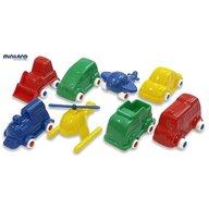 Miniland - Jucarii Minimobil  8 vehicule