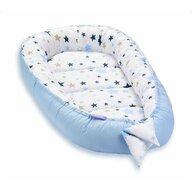 Jukki - Cosulet bebelus pentru dormit Baby Nest Cocoon XL 90x50 cm Milky Way