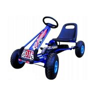 R-Sport - Kart G1 , Cu pedale, 3-7 ani, Albastru