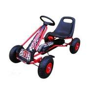 R-Sport - Kart G1 , Cu pedale, 3-7 ani, Rosu