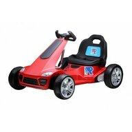 Trendmax - Kart electric pentru copii, motoare 2x35W, telecomanda, Rosu