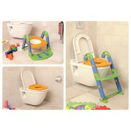 Kids Kit by Rotho babydesign - Scara cu reductor wc si olita, Multicolor