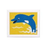 Kits4Kids - Kit creativ coasere in cruce Delfin,
