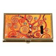 Fridolin - Accesoriu Port card Klimt , Pentru carti de vizita