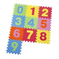Knorrtoys - Covor puzzle din spuma Numbers 10 piese