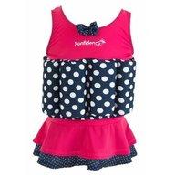 Konfidence - Costum inot copii cu sistem de flotabilitate ajustabil Pink Skirt 4-5 ani