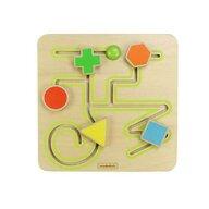 Masterkidz - Labirint dificultate medie, din lemn, +2 ani,