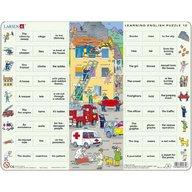 Larsen - Puzzle Invatam limba engleza Nr10, 54 piese