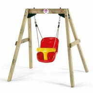 Plum - Leagan bebelusi din lemn Baby Swing