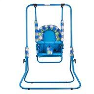 Top Kids - Leagan Dots Pliabil, din metal, 107x72 cm, Albastru