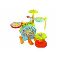 Lean Toys - Set tobe si microfon cu scaunel pentru copii