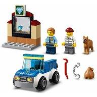 LEGO - Set de joaca Unitate de politie canina , ® City, Multicolor