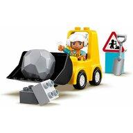 LEGO - Set de joaca Buldozer ® Duplo, Multicolor