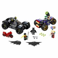 LEGO - Set de joaca Urmarirea lui Joker cu mototriciclul , ® Marvel Super Heroes, Multicolor