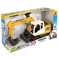 Lena Excavator plastic Bagr Liebherr A918 Litronic Worxx cupa functionala 48 cm pentru copii