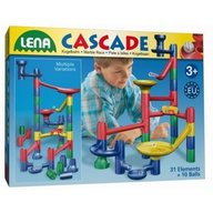 Lena - Set de joaca labirint de bile 31 piese si 20 bile