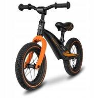 Lionelo - Bicicleta cu roti gonflabile, fara pedale Bart, Negru