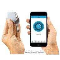 Lapa - Localizator Bluetooth, dispozitiv anti-pierdere si localizare rapida+Cadou Set 2 semnalizatoare luminoase Proviz, White