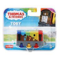 Mattel - Locomotiva Toby Curcubeu , Thomas and Friends