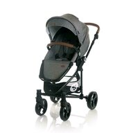 Lorelli - Carucior Set 3 in 1 Crysta, Grey