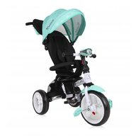 Lorelli - Tricicleta multifunctionala 4 in 1 Enduro, scaun rotativ, Green Stars