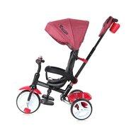 Lorelli - Tricicleta multifunctionala MOOVO, Red & Black Luxe
