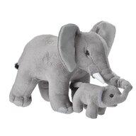WILD REPUBLIC - Jucarie din plus Elefant , Mama si puiul