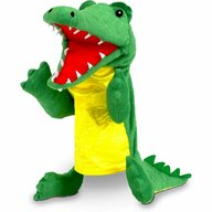 Fiesta Crafts - Marioneta de mana Crocodil